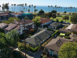 Steps From East Beach: 2 Bedroom Santa Barbara cottage great views/private yard