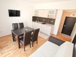 Modern 2 bedrooms apartment in Igalo center
