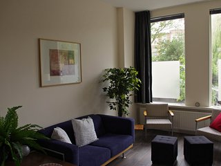 apartment in a beautiful green quay
