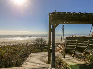 See, Hear & Feel the Ocean from this Beach Bungalow with Private Multi-Level Dec