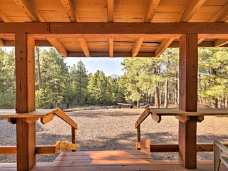 Home w/Amazing Views, Sauna, Huge Deck & Fire Pit!