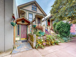 Spacious, updated house in great NW location with beautiful back yard