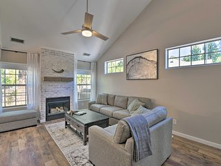 NEW! Modern Flagstaff Home w/BBQ, Walk Downtown!