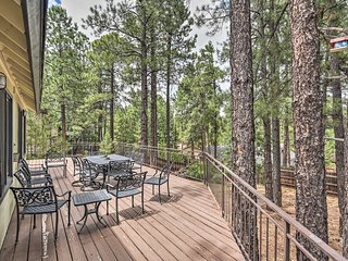 Unwind in the Pines, in Flagstaff & Near Hiking!