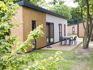 Modern chalet with dishwasher not far from the beach