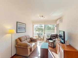 Convenient downtown apt. w/city views from the balcony