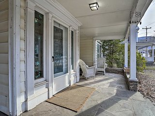 NEW! Historic House w/Record Player, Walk to Dtwn!
